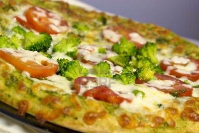 Pizza ai broccoli