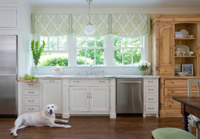 Dentro casa come scegliere le tende giuste oltre 40 idee eccellente donna - Vernici lavabili per cucina ...