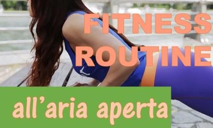 Allenamento Fitness Donna all'aria aperta