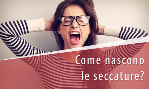 Come nascono le seccature (inconvenienti)?