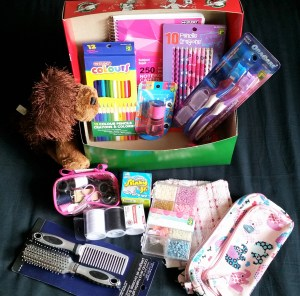 Contents of OCC Shoebox