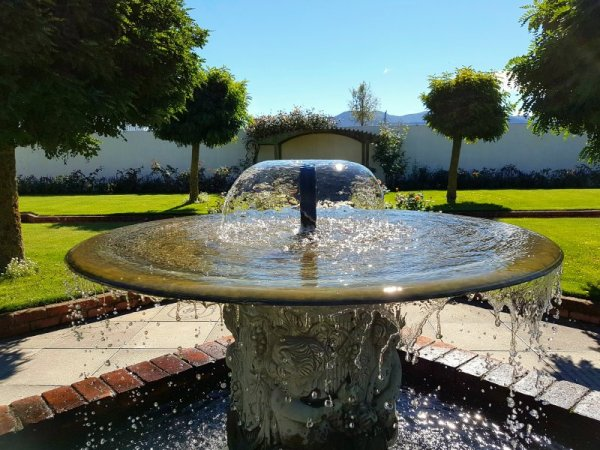 Fountain at Framingham Winery Marlborough Wineries