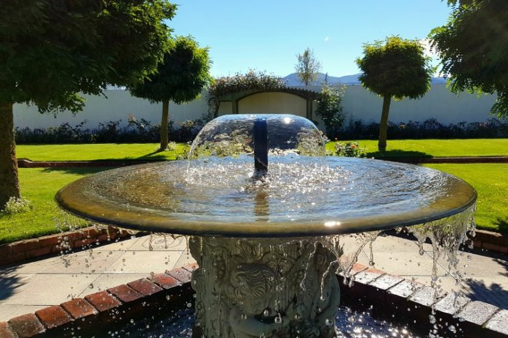 Fountain at Framingham Winery