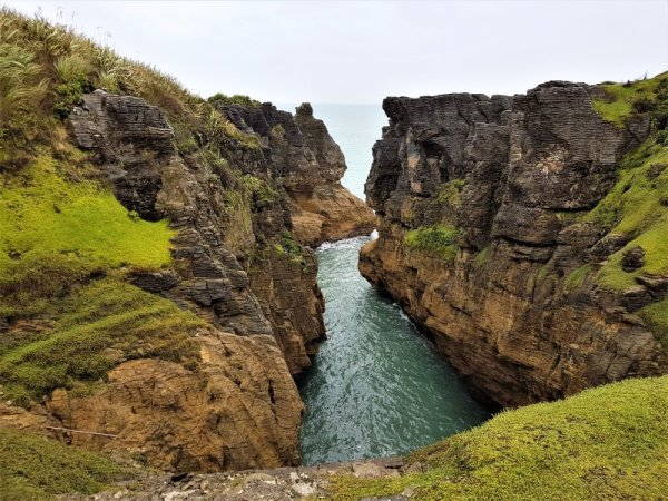 Punakaiki Pancake Rocks South Island New Zealand