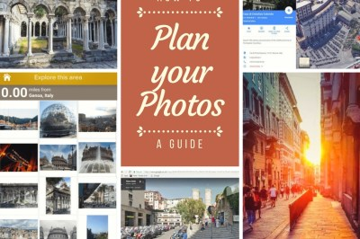 Planning your photos