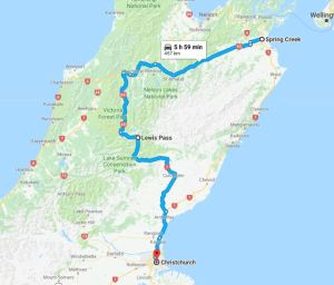 spring creek to christchurch