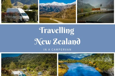 travelling new zealand in a campervan