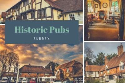 historic pubs of surrey