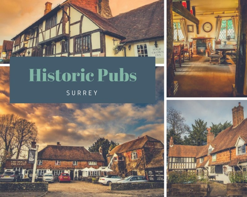 historic pubs of surrey