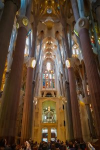 Sagrada Familia inside