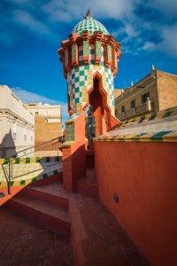 Casa Vicens rooftop