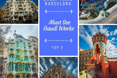 Gaudi Trail Barcelona (Top 5 Must See Gaudi Works!)