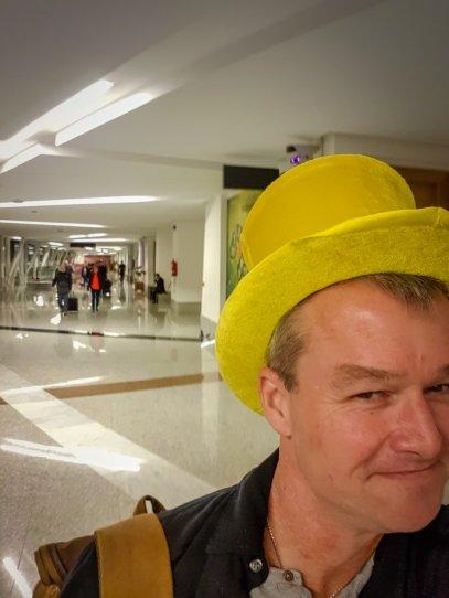 Eccentric Englishman At Marrakech Airport
