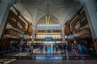 Inside the Railway Station