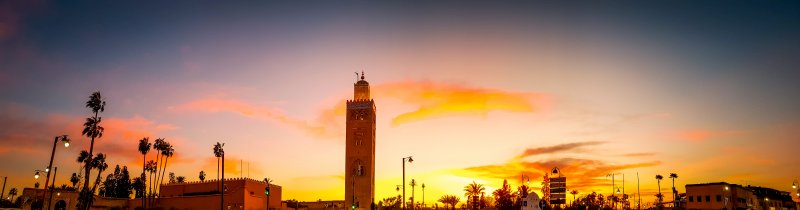 Sunset at Koutoubia Mosque - Marrakech City Break