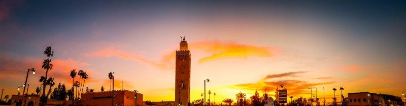 Sunset at Koutoubia Mosque - Marrakech City Break