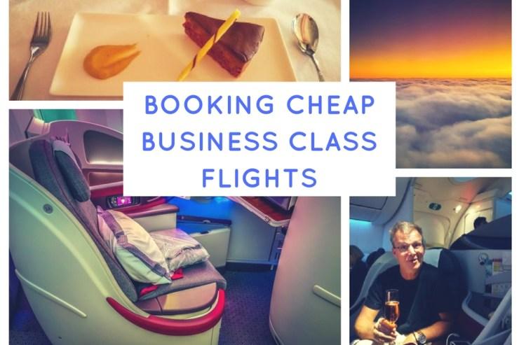 booking cheap business class flights