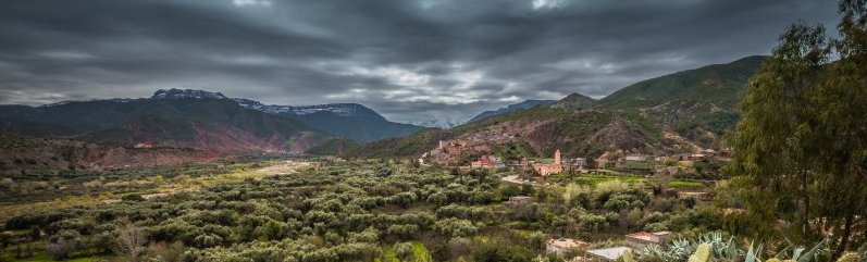 Atlas Mountains panorama