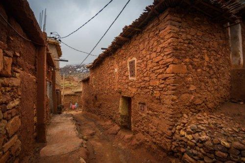 Berber village The Atlas Mountains Trip