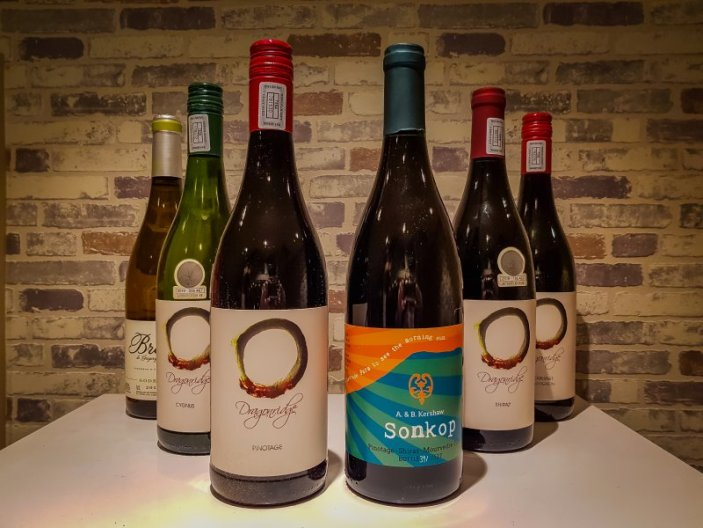 Rose and Protea wine on offer