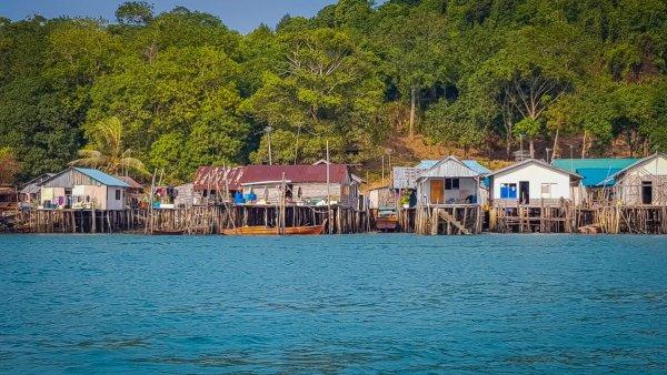 fishing village Indonesia