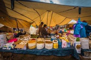 spice trader berber market