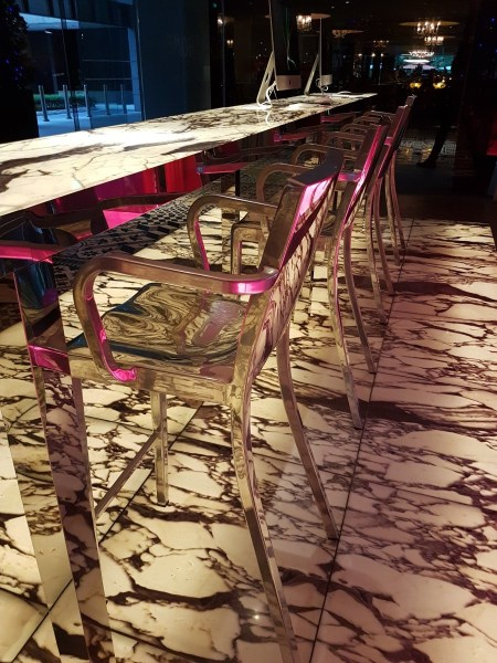 Msocial Hotel Singapore visit - Philippe Starck Chairs