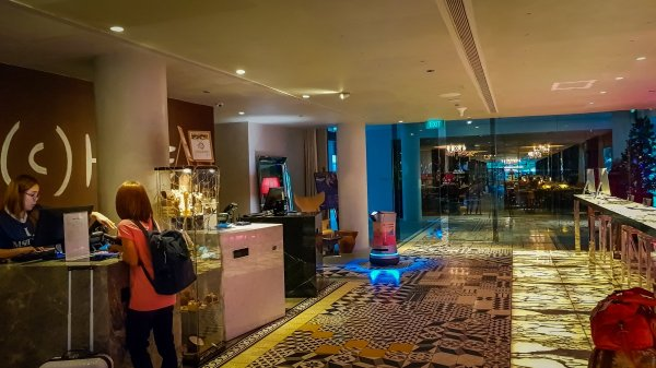 Reception Msocial Hotel Singapore visit