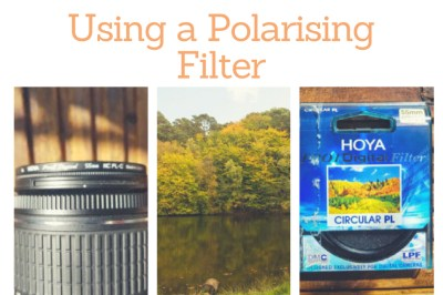 how to use a Polarising Filter