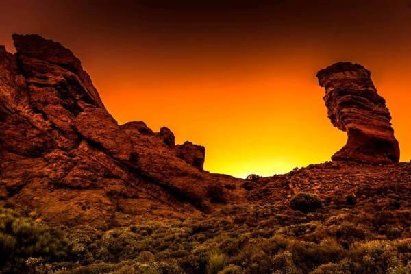 Sunset roques de garcia