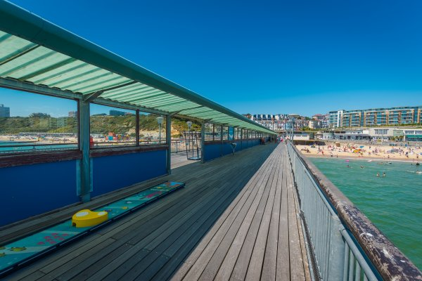 Boscombe pier - British Seaside Towns