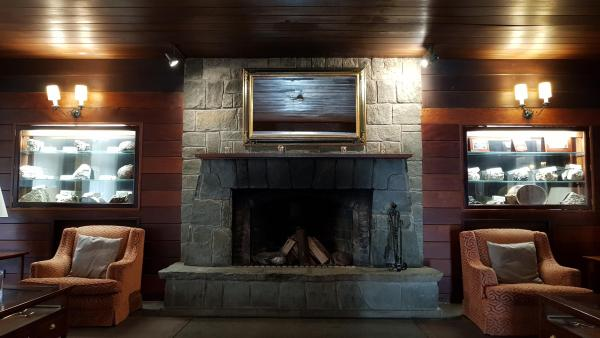 fireplace hotel mount teide