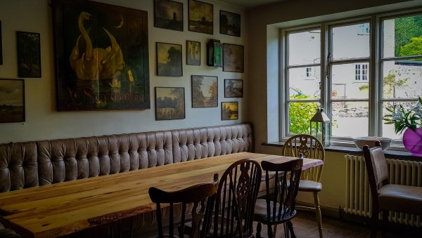 A quiet nook - The Swan Fittleworth