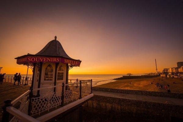 view from Brighton pier - understanding british seaside towns