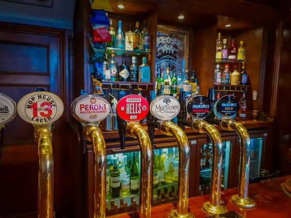 beers the pump house brighton