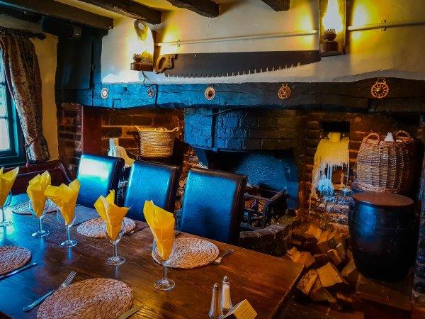 fireplace The Star Inn Rusper