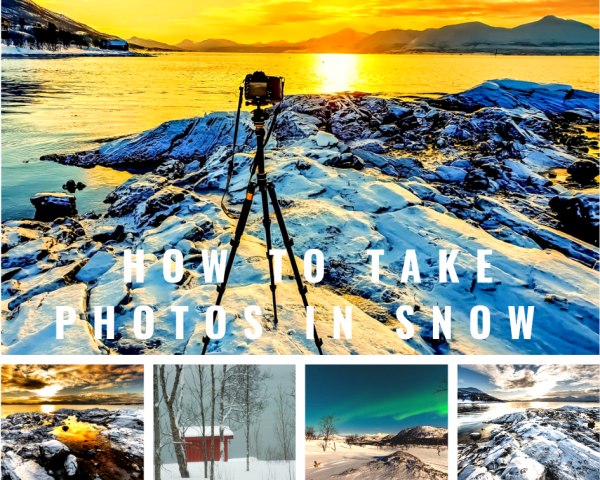 how to take photos in snow