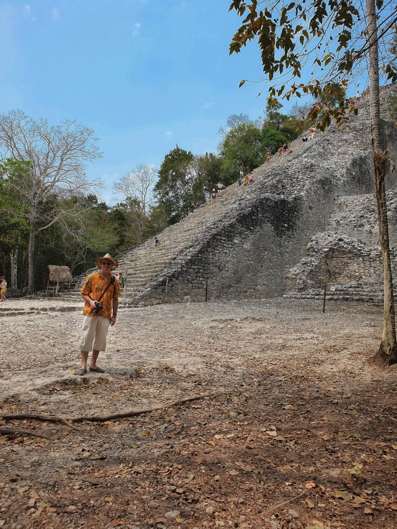 Coba Ruins Before the Climb
