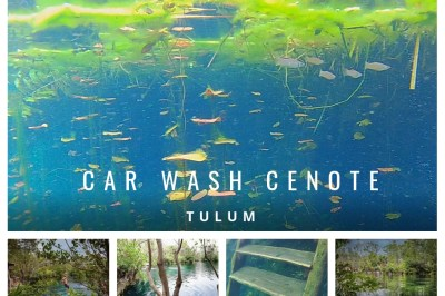 Car Wash Cenote Tulum
