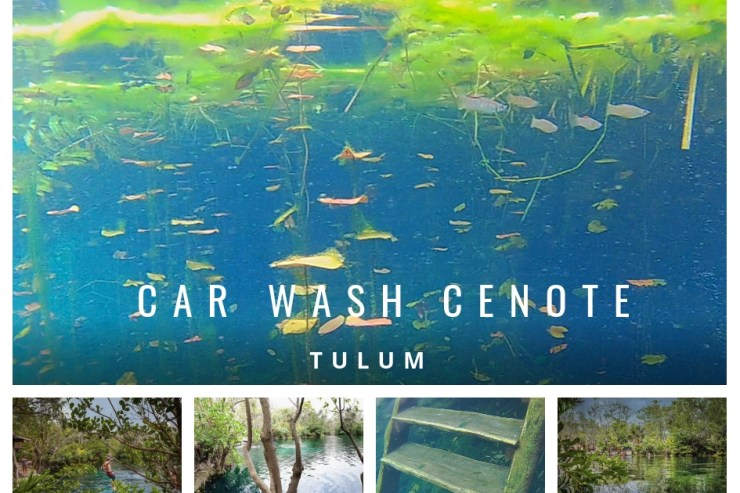 Car Wash Cenote Tulum