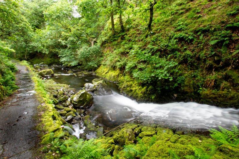 Ceunant Mawr Waterfall Lower Route