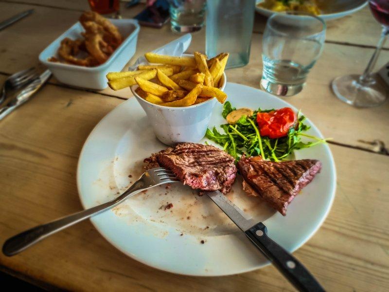 Food The Ship Inn Tresaith