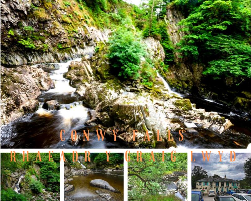 Conwy Falls Rhaeadr Y Graig Lwyd