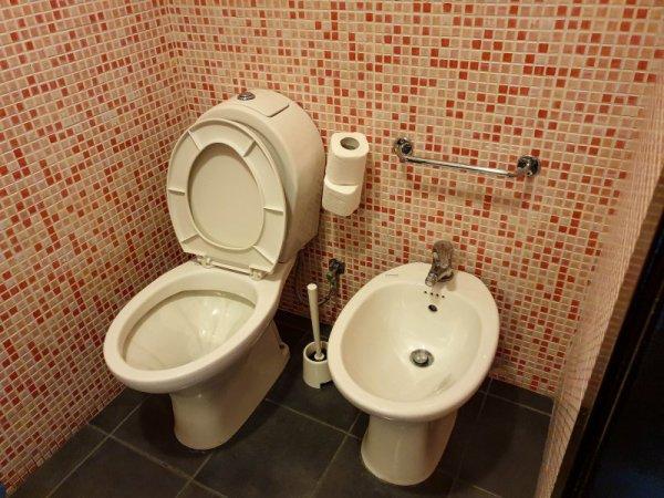 Hotel Trieste Catania Bathroom