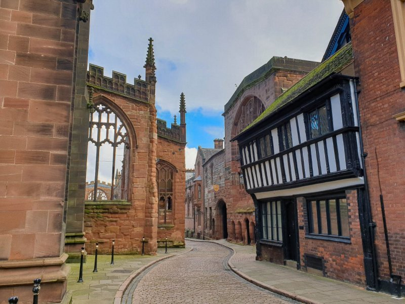 Coventry Cathedral and Guildhall