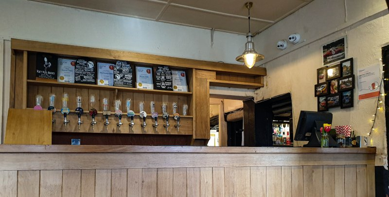 Real Ale Bar at the Surrey Oaks newdigate