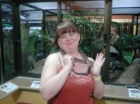 My little Boa friend from the EcoZoo.