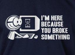 Broke Something