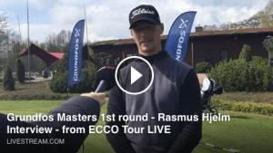 Rasmus Hjelm interview Grundfos Masters