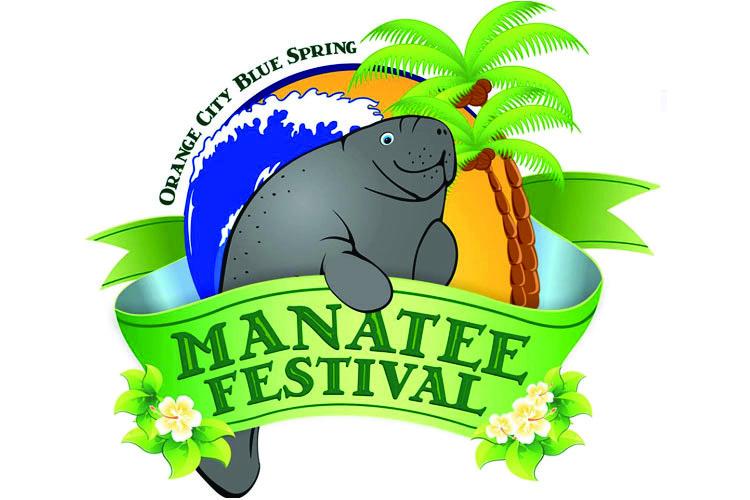 manatee festival 2019 logo